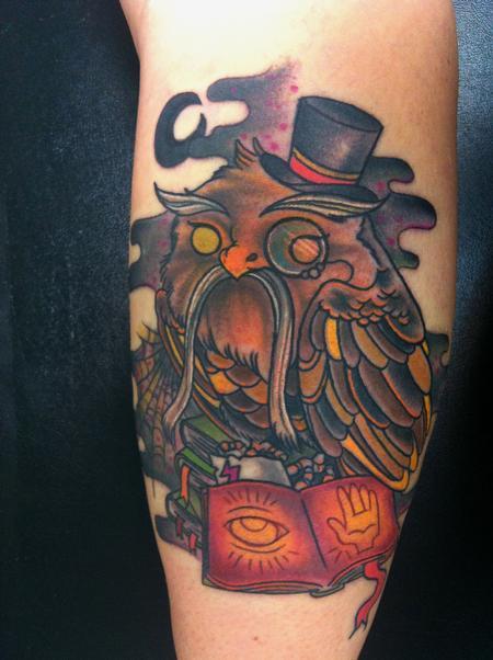 tattoos/ - Wise Owl - 61078