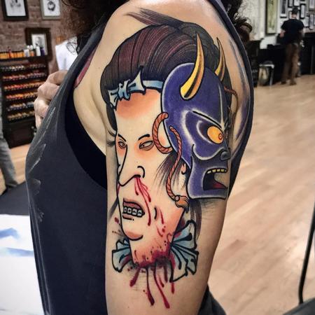 tattoos/ - Beavis and Butthead Tattoo - 141398