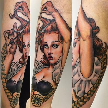 tattoos/ - Hairdresser Pinup Tattoo - 141022