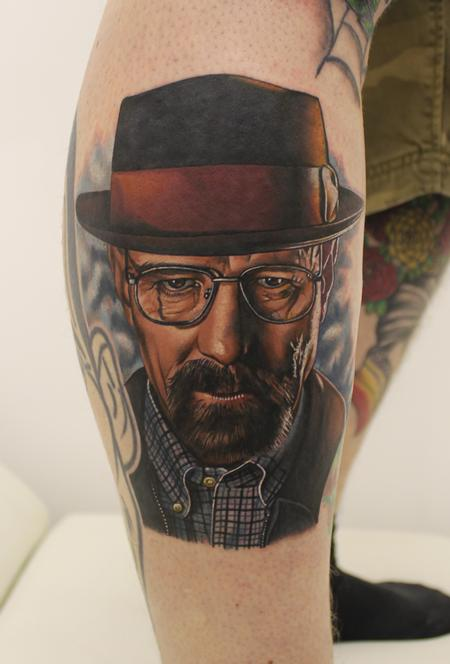 tattoos/ - Breaking Bad Portrait - 93316