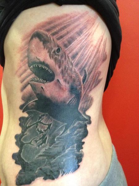 tattoos/ - shark rib piece - 71684