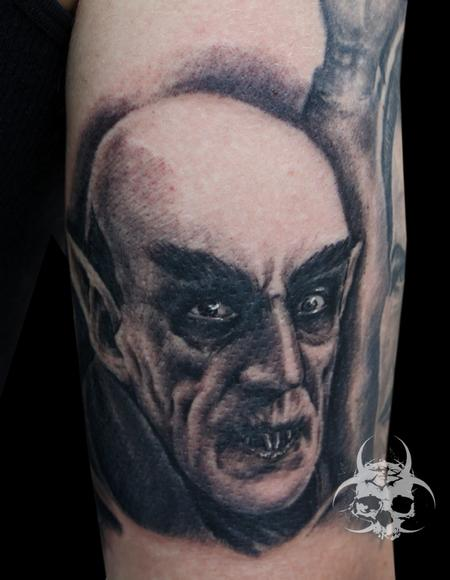 tattoos/ - Nosferatu Portrait - 82213
