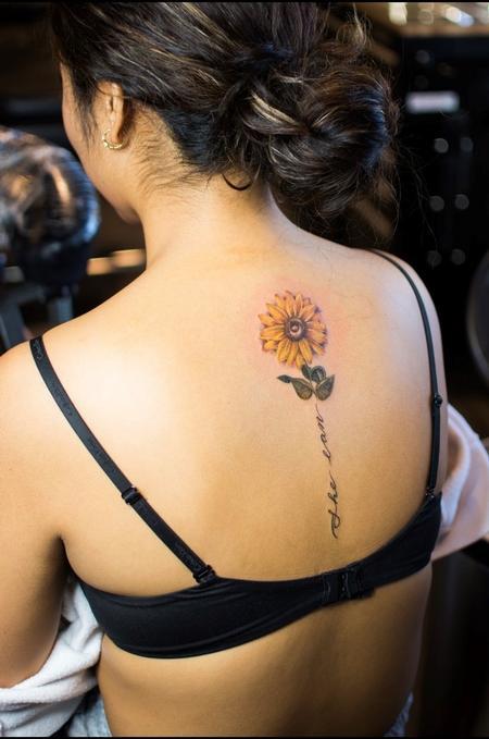 tattoos/ - Sadie Gabriella Sunflower - 142496
