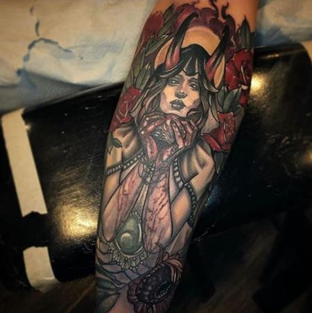 tattoos/ - Al Perez - The Demon Lady With A Heart - 141450