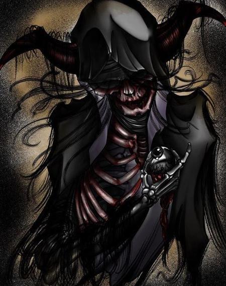 Art Galleries - Al Perez hooded demon - 138750