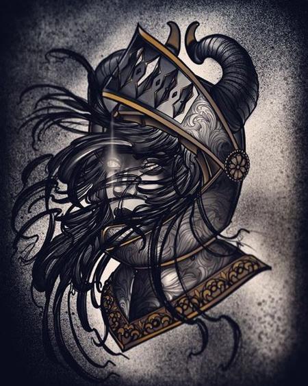 Art Galleries - Al Perez Demon Knight Lady - 139136