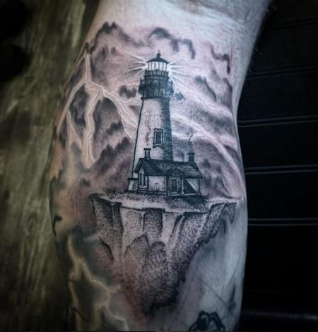 tattoos/ - Billy Williams Tiny Lighthouse - 141513