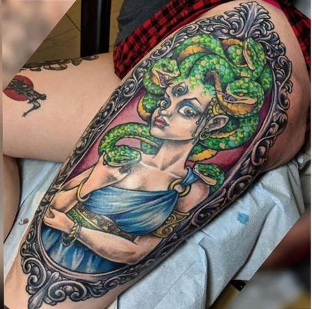 tattoos/ - Bonnie Seeley Medusa - 141132