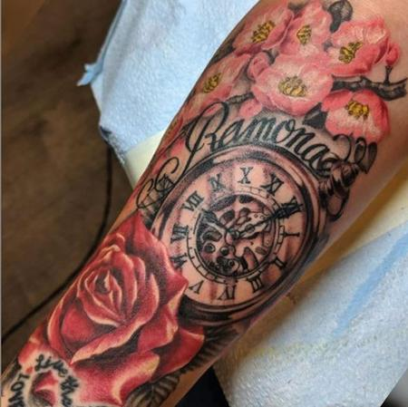 tattoos/ - Bonnie Seeley Flowers and Watch - 139751
