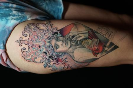 tattoos/ - Miss Amanda Winter Queen Portrait - 142706