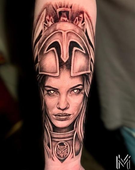 tattoos/ - Matt Morrison Deity Portrait - 141703