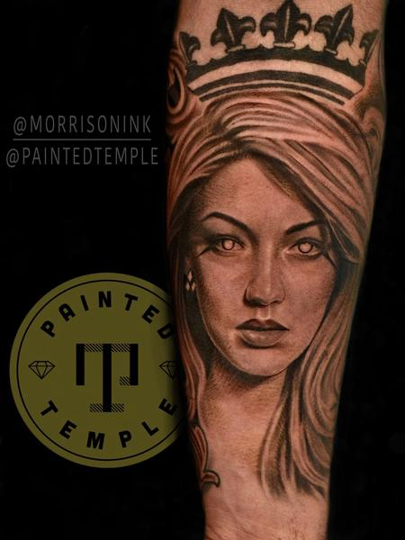tattoos/ - Matt Morrison Queen Portrait - 142134