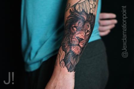 tattoos/ - Jesse Carlton Lion Portrait - 142199