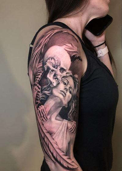 tattoos/ - Oak Adams Skeleton Angel - 141720