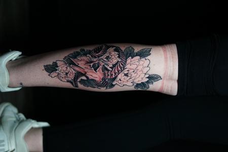 tattoos/ - Billy Williams Ram Skull - 142493