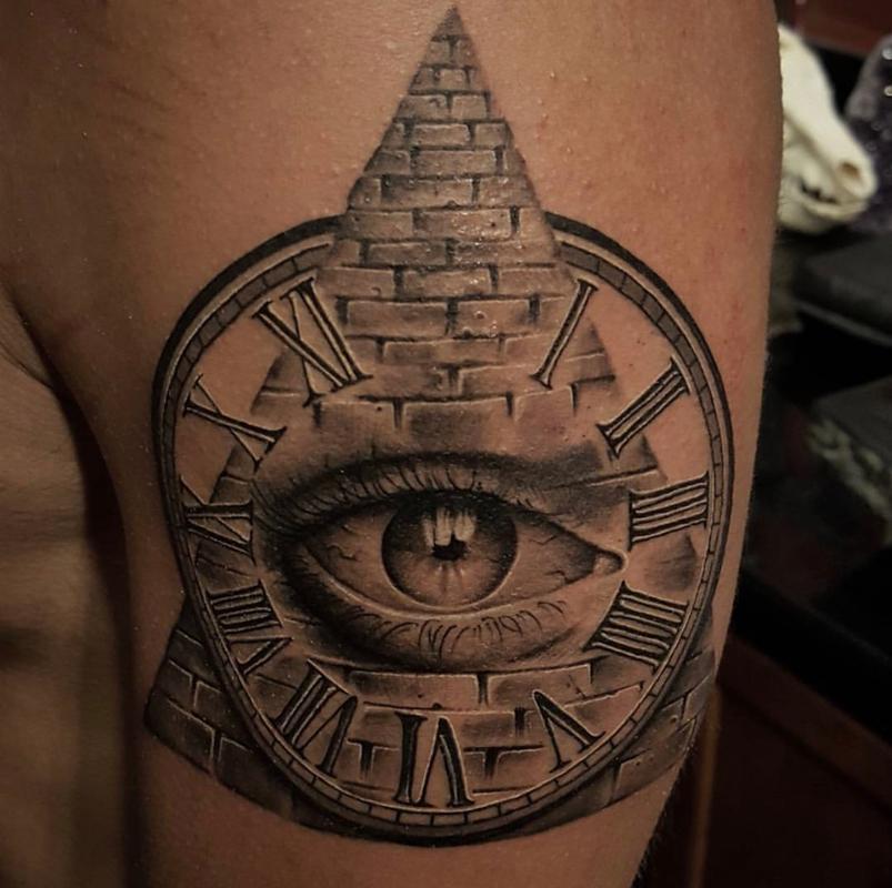 Illuminati Tattoo By Zane Collins Tattoos