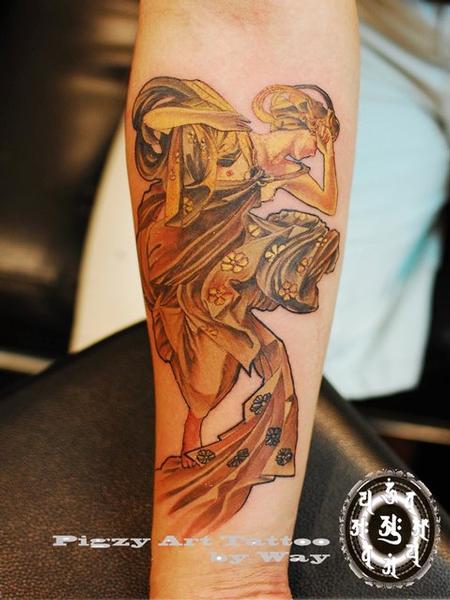 tattoos/ - Custom Girl Tattoo - 60506