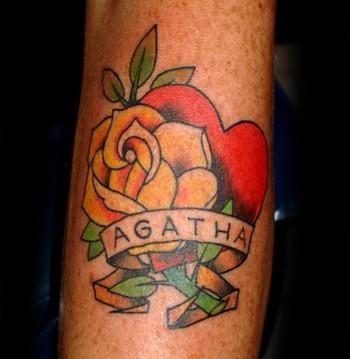 tattoos/ - Agatha, tattoo by Deirdre Doyle - 37247