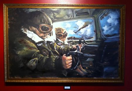 Art Galleries - Original Art Painting - 68082