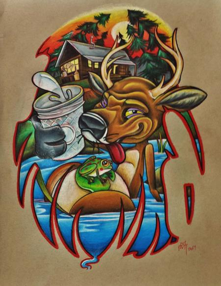 Art Galleries - Drunken deer - 100515