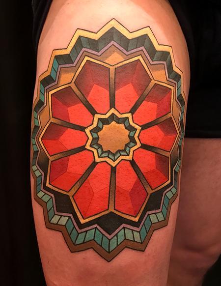 tattoos/ - 3D Geometric Design - 128063