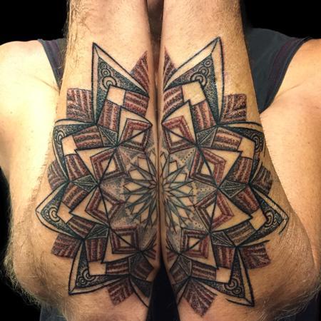 tattoos/ - Mandala on Forearms  - 126950