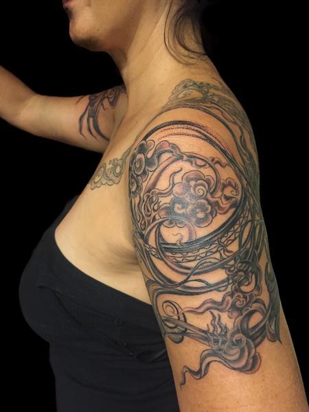 tattoos/ - Decorative Shoulder Piece - 126952