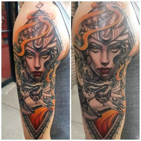 tattoos/ - Neo Traditional Medusa - 132028