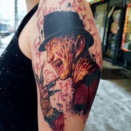 tattoos/ - Nightmare on Elm Street - 132029