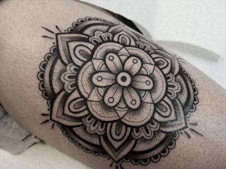 tattoos/ - Blackwork Mandala - 132003