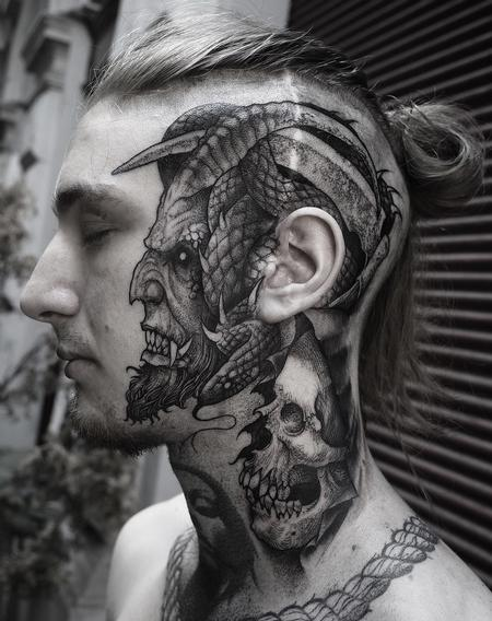 tattoos/ - Face Devil - 141424