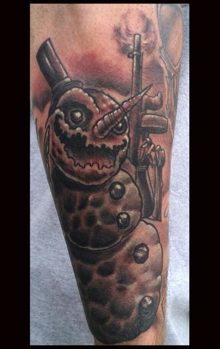 tattoos/ - Gangster Snowman - 77611