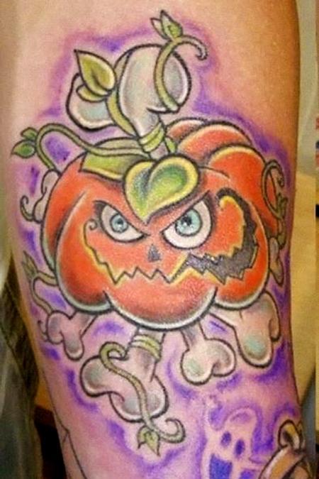 tattoos/ - Pumpkin Tattoo - 62852