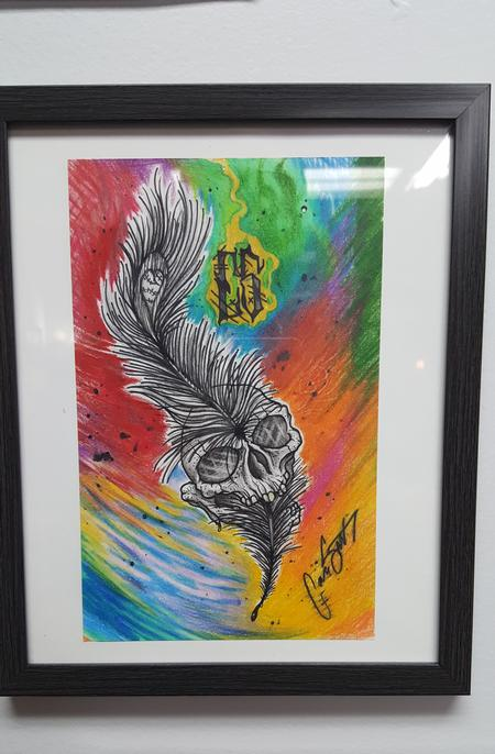 Art Galleries - Skullfeather, Rainbow - 119007
