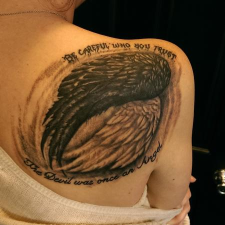 tattoos/ - Good and Evil wings - 119036