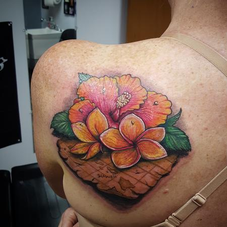 tattoos/ - Hawaiian Hibiscus Map - 119035