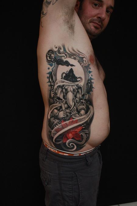tattoos/ - Ganesh finished piece - 98701