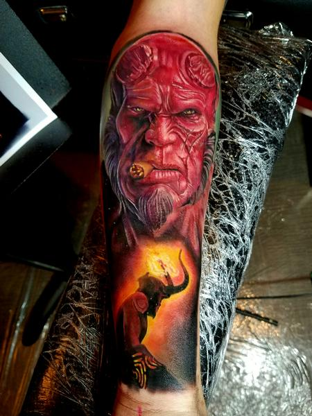tattoos/ - HellBoy - 122864