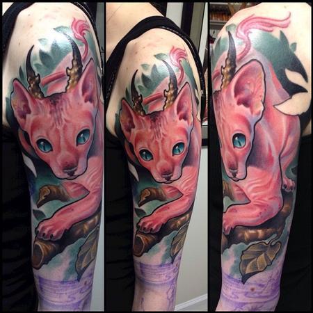tattoos/ - Cat Tattoo - 110137