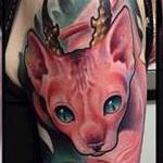Cat Tattoo Tattoo Design Thumbnail