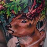 Deer Kids Tattoo Design Thumbnail