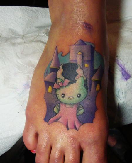 tattoos/ - Hello Kitty Bride of Frankenstein - 57755