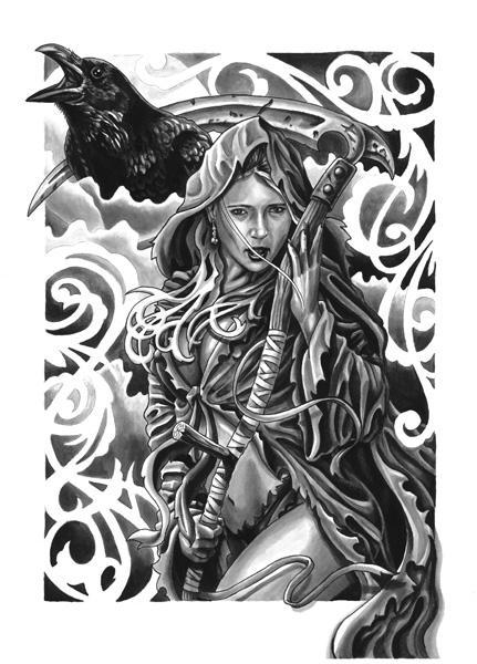 Art Galleries - female reaper - 61889