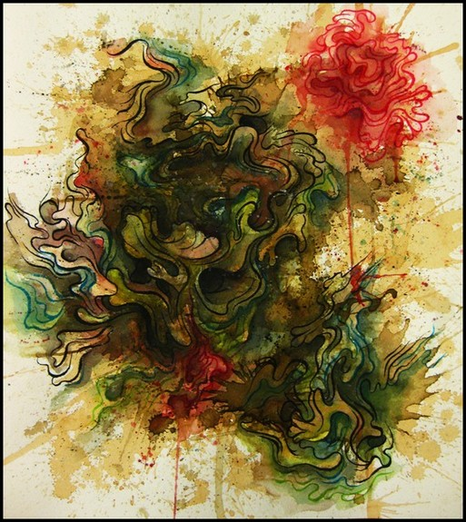 Art Galleries - Abstract Watercolor Drawing - 52944