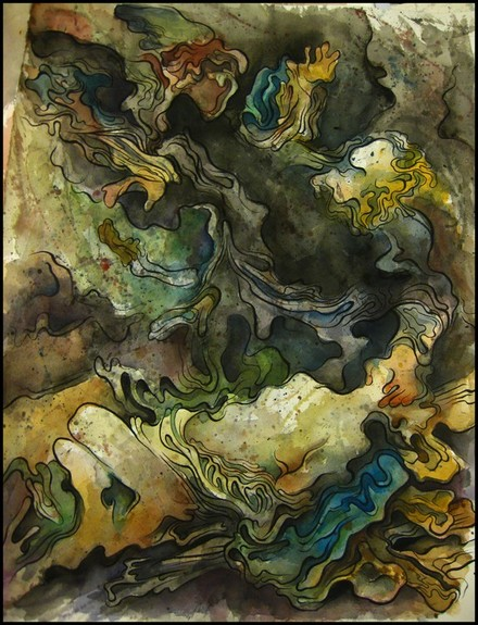 Art Galleries - Abstract Old Master Painting - 52945