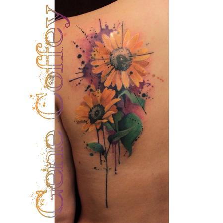 tattoos/ - Sunflowers - 95249