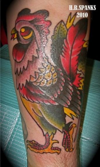 tattoos/ - Rooster Tattoo - 52214