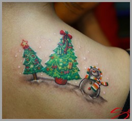 tattoos/ - Christmas Tattoo - 51754
