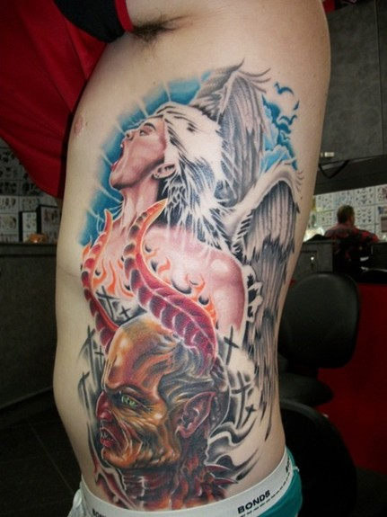 tattoos/ - Good and Evil Tattoo - 52477