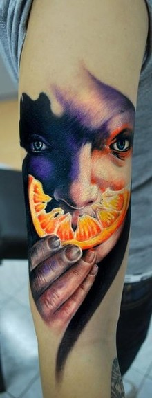 tattoos/ - orange peel tattoo - 49749